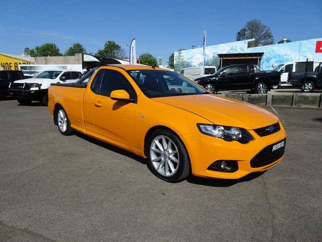 Used Ford Falcon FG MkII XR6 Ute Super Cab, 2014 Ford Falcon FG MkII XR6 Ute Super Cab Octane 6 Speed Sports Automatic Utility