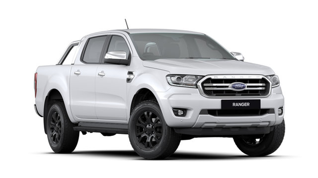 New Ford Ranger PX MkIII MY20.25 XLT (4x4), 2019 Ford Ranger PX MkIII MY20.25 XLT (4x4) Arctic White 6 Speed Automatic Double Cab Utility