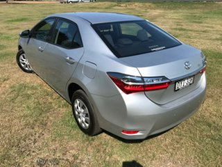 2018 Toyota Corolla ZRE172R Ascent S-CVT Silver Ash 7 Speed Constant Variable Sedan
