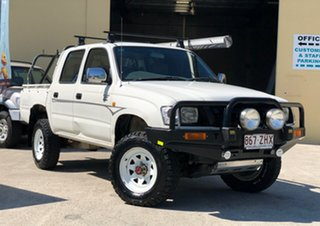 2004 Toyota Hilux LN167R MY04 White 5 Speed Manual Utility