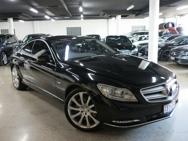 Used Mercedes-Benz CL-Class C216 MY11 CL500 BlueEFFICIENCY, 2010 Mercedes-Benz CL-Class C216 MY11 CL500 BlueEFFICIENCY Black 7 Speed Sports Automatic Coupe