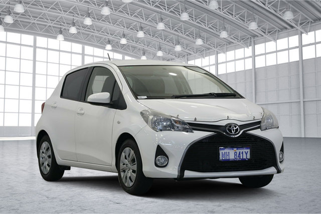 Used Toyota Yaris NCP131R SX, 2014 Toyota Yaris NCP131R SX White 4 Speed Automatic Hatchback