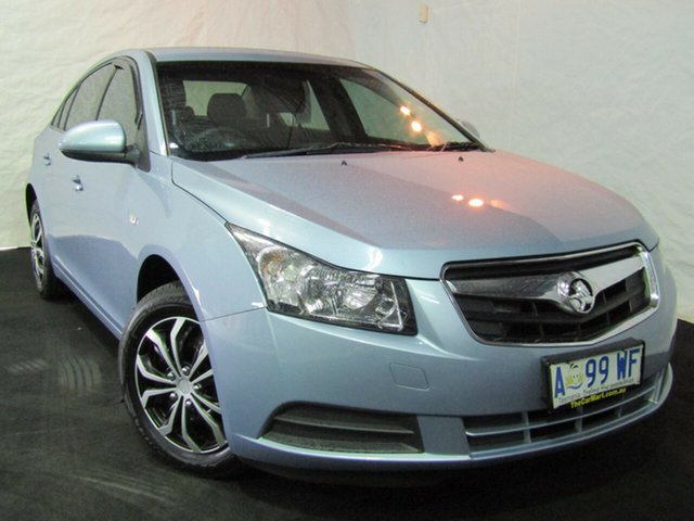 Used Holden Cruze JG CD, 2009 Holden Cruze JG CD Iced Blue 6 Speed Sports Automatic Sedan