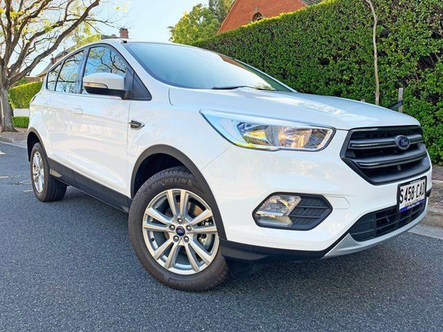 Used Ford Escape ZG 2019.25MY Ambiente 2WD, 2019 Ford Escape ZG 2019.25MY Ambiente 2WD Frozen White 6 Speed Sports Automatic Wagon
