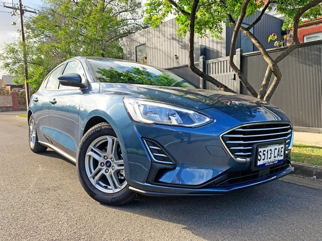 Used Ford Focus SA 2019.25MY Ambiente, 2019 Ford Focus SA 2019.25MY Ambiente Blue Metallic 6 Speed Automatic Hatchback