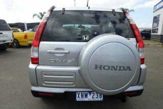 2006 Honda CR-V RD MY2006 Sport 4WD Silver 5 Speed Manual Wagon