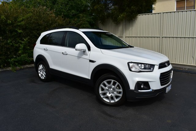 Used Holden Captiva CG MY18 Active 2WD, 2018 Holden Captiva CG MY18 Active 2WD Summit White 6 Speed Sports Automatic Wagon