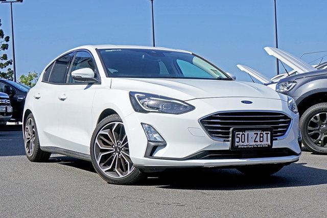 Used Ford Focus SA 2019MY Titanium, 2018 Ford Focus SA 2019MY Titanium White 8 Speed Automatic Hatchback