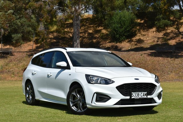 Used Ford Focus SA 2019.25MY ST-Line, 2019 Ford Focus SA 2019.25MY ST-Line White 8 Speed Automatic Wagon
