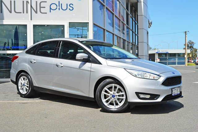 Used Ford Focus LZ Trend, 2015 Ford Focus LZ Trend Silver 6 Speed Automatic Sedan