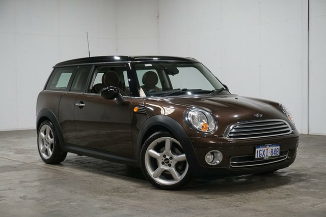 Used Mini Clubman R55 Cooper, 2008 Mini Clubman R55 Cooper Brown 6 Speed Sports Automatic Wagon