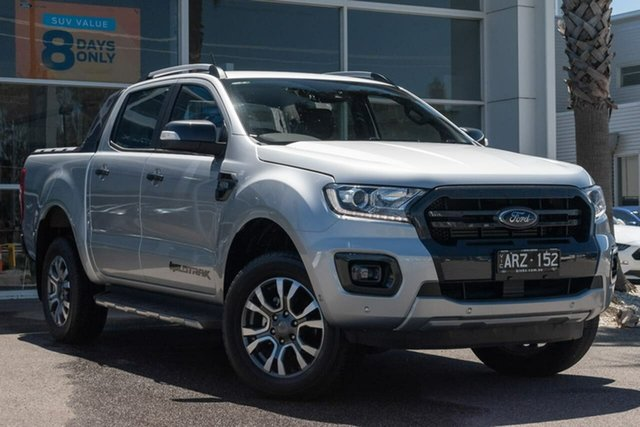 Used Ford Ranger PX MkIII 2019.00MY Wildtrak Pick-up Double Cab, 2018 Ford Ranger PX MkIII 2019.00MY Wildtrak Pick-up Double Cab 6 Speed Sports Automatic Utility
