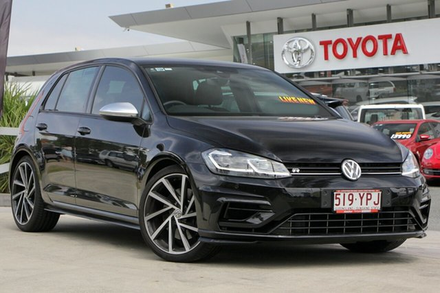 Used Volkswagen Golf 7.5 MY19 R DSG 4MOTION, 2018 Volkswagen Golf 7.5 MY19 R DSG 4MOTION Black 7 Speed Sports Automatic Dual Clutch Hatchback