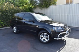 2009 Ford Territory SY TX Black 4 Speed Sports Automatic Wagon.