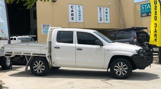 2014 Volkswagen Amarok 2H MY14 TDI400 (4x4) White 6 Speed Manual Dual Cab Utility