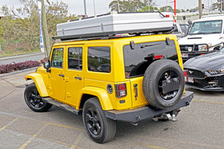2014 Jeep Wrangler JK MY2014 Unlimited Overland Yellow 5 Speed Automatic Hardtop.