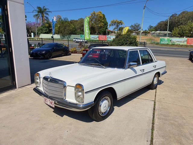 Used Mercedes-Benz 280 W114 , 1974 Mercedes-Benz 280 W114 White Automatic Sedan