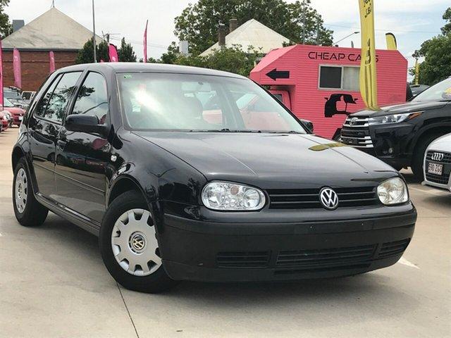 Used Volkswagen Golf 4th Gen MY02 S, 2003 Volkswagen Golf 4th Gen MY02 S Black 4 Speed Automatic Hatchback