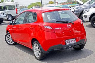2014 Mazda 2 DJ2HAA Neo SKYACTIV-Drive Red 6 Speed Sports Automatic Hatchback.