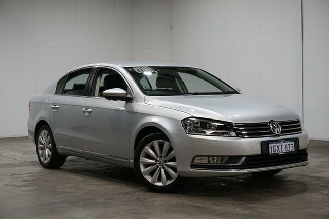 Used Volkswagen Passat Type 3C MY14 118TSI DSG, 2013 Volkswagen Passat Type 3C MY14 118TSI DSG Silver 7 Speed Sports Automatic Dual Clutch Sedan