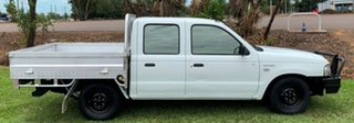 2005 Ford Courier PH (Upgrade) GL Crew Cab 4x2 White 5 Speed Manual Utility.