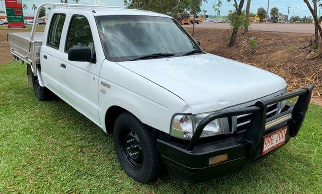 Used Ford Courier PH (Upgrade) GL Crew Cab 4x2, 2005 Ford Courier PH (Upgrade) GL Crew Cab 4x2 White 5 Speed Manual Utility
