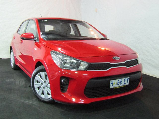 Used Kia Rio YB MY17 S, 2017 Kia Rio YB MY17 S Red/Black 4 Speed Sports Automatic Hatchback