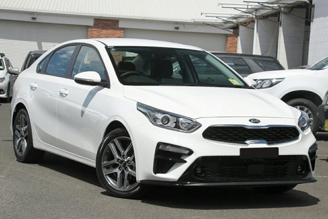 New Kia Cerato BD MY21 Sport+ St Marys, 2020 Kia Cerato BD MY21 Sport+ Clear White 6 Speed Sports Automatic Sedan