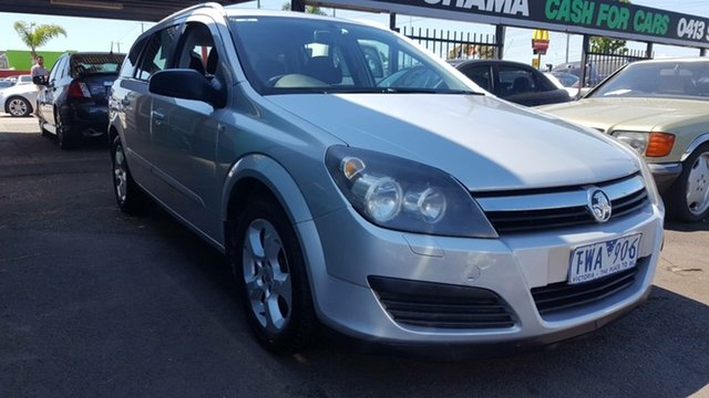 Used Holden Astra AH MY06 CDX, 2005 Holden Astra AH MY06 CDX Silver 4 Speed Automatic Wagon