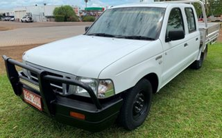 2005 Ford Courier PH (Upgrade) GL Crew Cab 4x2 White 5 Speed Manual Utility