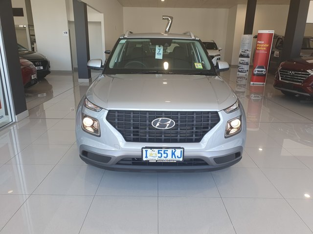 Demo Hyundai Venue QX MY20 Go, 2019 Hyundai Venue QX MY20 Go Typhoon Silver 6 Speed Automatic Wagon
