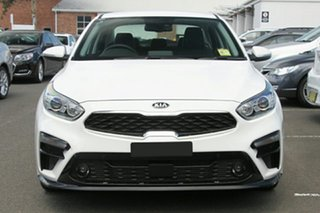 2020 Kia Cerato BD MY21 Sport+ Clear White 6 Speed Sports Automatic Sedan