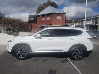 2019 Hyundai Santa Fe TM.2 MY20 Highlander White Cream 8 Speed Sports Automatic Wagon.