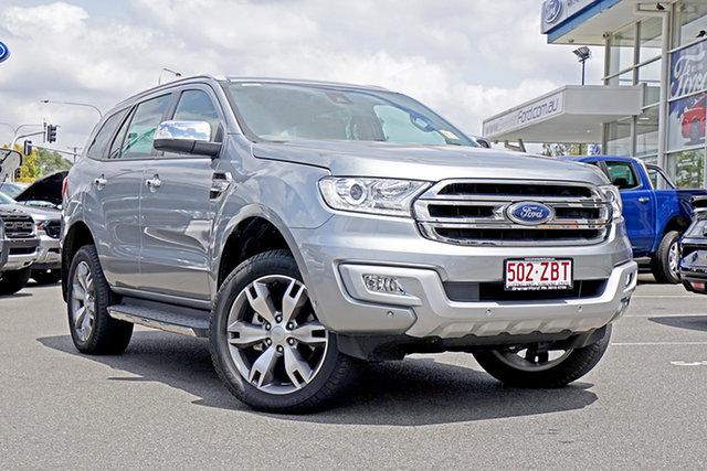 Used Ford Everest UA 2018.00MY Titanium, 2018 Ford Everest UA 2018.00MY Titanium Aluminium 6 Speed Sports Automatic