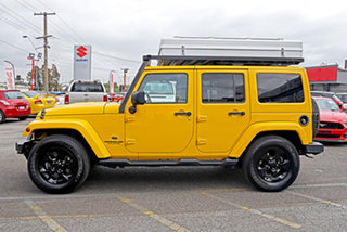 2014 Jeep Wrangler JK MY2014 Unlimited Overland Yellow 5 Speed Automatic Hardtop