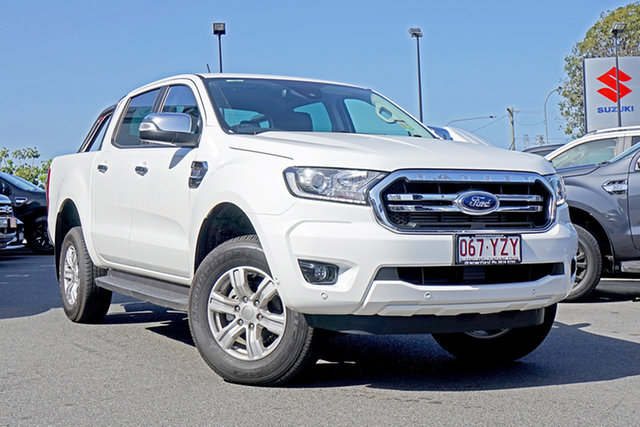 Used Ford Ranger PX MkIII 2019.00MY XLT Pick-up Double Cab 4x2 Hi-Rider, 2019 Ford Ranger PX MkIII 2019.00MY XLT Pick-up Double Cab 4x2 Hi-Rider Arctic White 6 Speed