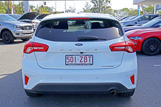 2018 Ford Focus SA 2019MY Titanium White 8 Speed Automatic Hatchback