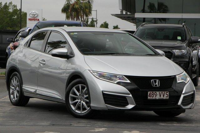 Used Honda Civic 9th Gen MY15 VTi-S, 2015 Honda Civic 9th Gen MY15 VTi-S Silver 6 Speed Manual Hatchback