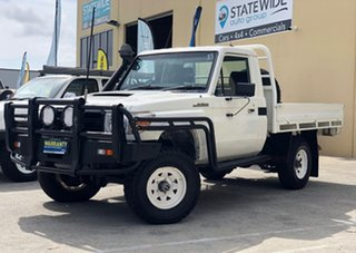 2013 Toyota Landcruiser VDJ79R MY12 Update Workmate (4x4) 5 Speed Manual Cab Chassis.