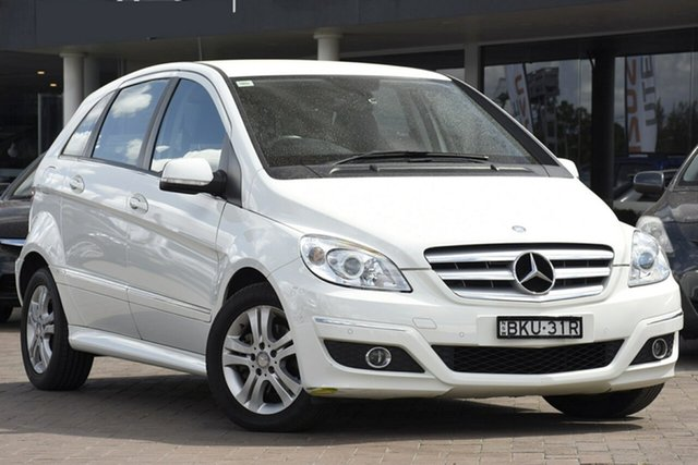Used Mercedes-Benz B-Class W245 MY09 B200, 2009 Mercedes-Benz B-Class W245 MY09 B200 White 7 Speed Constant Variable Hatchback
