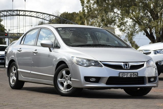 Used Honda Civic 8th Gen MY10 VTi, 2010 Honda Civic 8th Gen MY10 VTi Silver 5 Speed Manual Sedan
