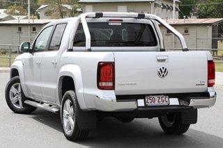2019 Volkswagen Amarok 2H MY19 TDI550 4MOTION Perm Highline Reflex Silver 8 Speed Automatic Utility.