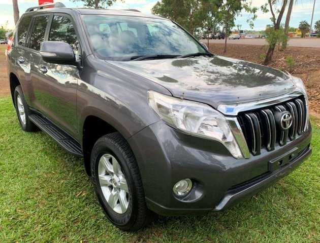 Used Toyota Landcruiser Prado KDJ150R MY14 GXL, 2014 Toyota Landcruiser Prado KDJ150R MY14 GXL Grey 5 Speed Sports Automatic Wagon