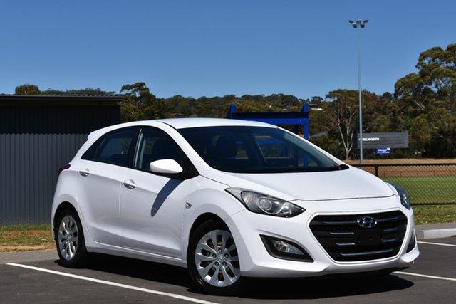 Used Hyundai i30 GD3 Series II MY16 Active, 2014 Hyundai i30 GD3 Series II MY16 Active White 6 Speed Sports Automatic Hatchback