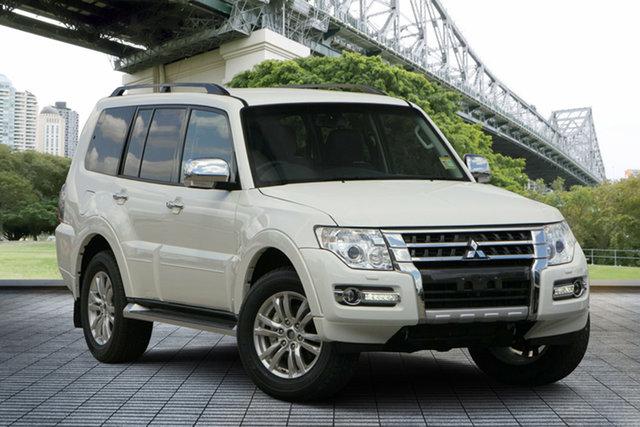 Used Mitsubishi Pajero NX MY19 GLS, 2018 Mitsubishi Pajero NX MY19 GLS White 5 Speed Sports Automatic Wagon