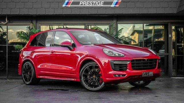 Used Porsche Cayenne 92A MY16 GTS Tiptronic Bowen Hills, 2015 Porsche Cayenne 92A MY16 GTS Tiptronic Red 8 Speed Sports Automatic Wagon