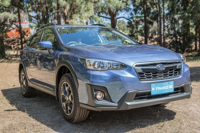 Demo Subaru XV G5X MY19 2.0i Premium Lineartronic AWD, 2019 Subaru XV G5X MY19 2.0i Premium Lineartronic AWD Quartz Blue 7 Speed Automatic Hatchback