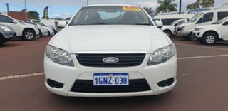 2011 Ford Falcon FG MkII XT White 6 Speed Sports Automatic Sedan.