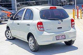 2011 Nissan Micra K13 ST White 5 Speed Manual Hatchback.