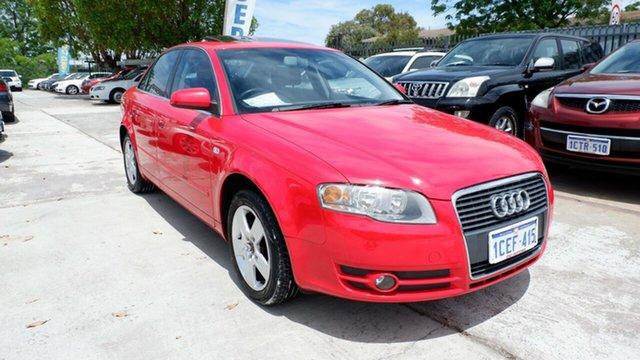 Used Audi A4 B7 Multitronic, 2006 Audi A4 B7 Multitronic Red 7 Speed Constant Variable Sedan